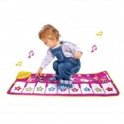 Tanzmatten Klaviermatte Musikmatte Kinder Tanzmatte Musik Matte 100x36cm