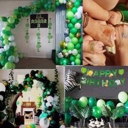 Dschungel Luftballon Geburtstag Party Junge Kindergeburtstag Deko Set