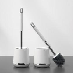 WC Bürste Klobürste mit Halter Toilettenbürste Set für Badezimmer