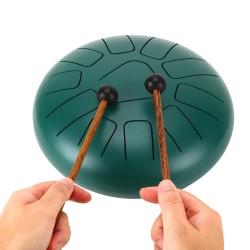 Tongue Pan Drum 11 Töne Schlaginstrument Hand Pan Drum mit Tragetasche