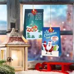 24pcs Adventskalender Geschenktüten Papiertüten Weihnachten Geschenktüten
