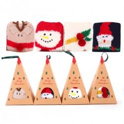 Kuschelsocken Stoppersocken Winter Socken Weihnachtssocken 4 Paar
