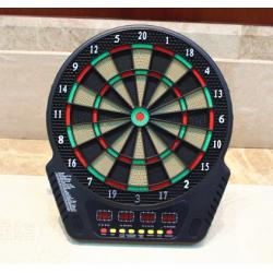 Elektronisches Dartboard Dartscheibe mit LED und Sprach-Anzeige 44cm