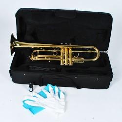 Bb Trompete Jazztrompete Trumpet gold Trompete in Bb-Stimmung