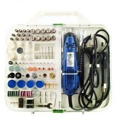Multitool Multifunktionswerkzeug 180W Mini Schleifmaschine 210pcs Set