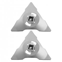 Ersatz-Klinge Ersatzmesser 2er Edelstahl Set für RC/RS Modelle Klinge
