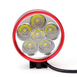 Fahrradlampe 6x Cree Bike Leuchte Fahrrad Licht Set Scheinwerfer