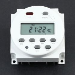 Solar Zeitschaltuhr Timer Programmierbar mit LCD Digitalanzeige 12V