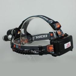 Headlampe LED Stirnlampe Kopflampe Headlight 3000LM mit Ladegerät
