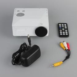 Videoprojektor Heimkino Mini LED Beamer Projektionsgerät LCD Player