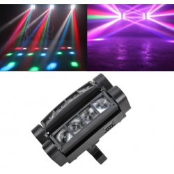 DMX512 20W Led Moving Head Disco Strahler LED Mini Disco Beleuchtung