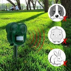 Ultraschall Abwehr Tiervertreiber Abschreckungsgerät Marderschreck grün