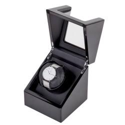 Uhrenbeweger Uhrendreher Watch Winder für 1+0 Uhr, 4 Modi Handgemacht