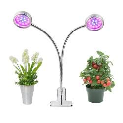 Dual Kopf Pflanzenlampe 16W Pflanzenlicht Wachsen licht Pflanzenleucht