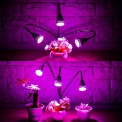 LED Pflanzenlampe 15W Wachstumslampe Pflanzenlicht Wachsen licht