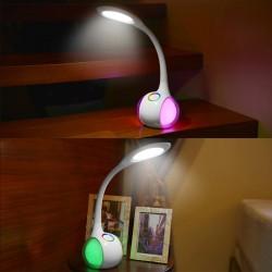LED Schreibtischlampe Atmosphärenlampe mit Schwanenhals 5W dimmbare