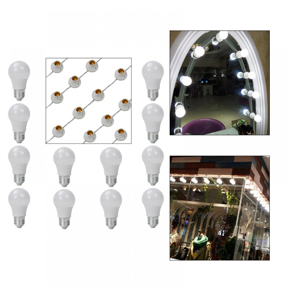 LED Makeup Lampe Leuchte Spiegellicht Set für Schminkspiegel ...