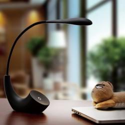 LED Tischleuchte Schwanenhals Leselampe Tischlampe 5w schwarz