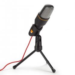 Kondensator Mikrofon Mic Ständer Set Studio für Computer iPad 3,5mm