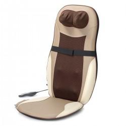 Massagesitzauflage Sitzauflage Massageauflage Wärmefunktion braun 60 W