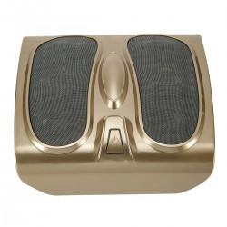 Fussmassage elektrisch Gerät mit 18 Massageköpfe Fussmassager golden