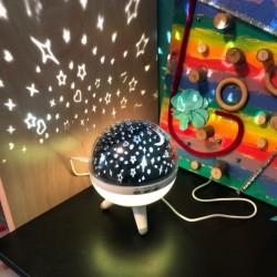 LED Projektionslampe Sternenhimmel Nachtlicht Sternlicht Mondlichter