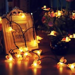 Solar LED Lichterkette Bienen Dekorative für Garten Party Hochzeit