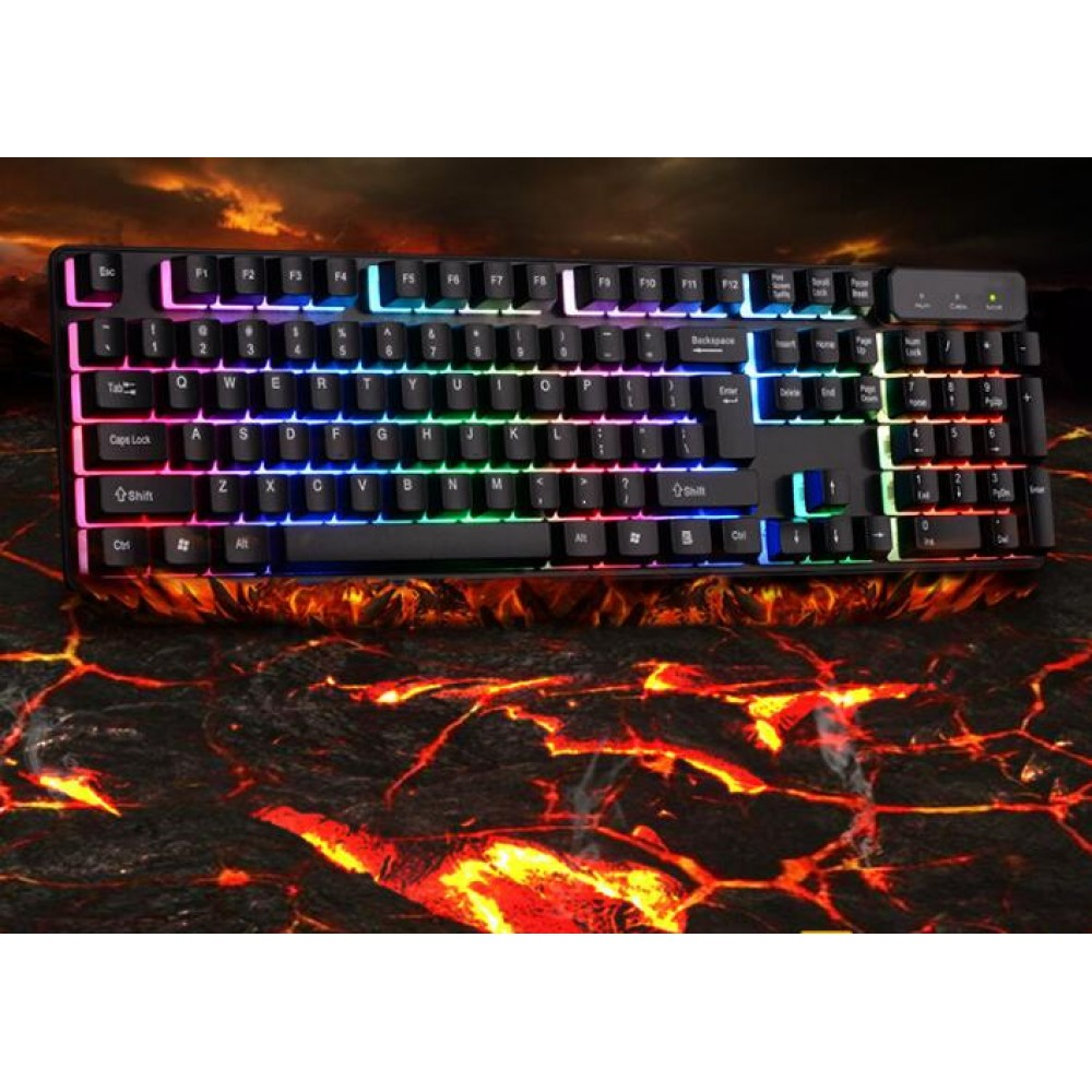 led illuminated gaming keyboard tastatur hintergrundbeleuchtung. Black Bedroom Furniture Sets. Home Design Ideas