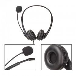 Chat Headset Multifunktionale USB Headset Stereo Sound Audio Kopfhörer