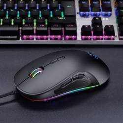RGB Gamer Mouse 10000dpi mit 8 Tasten LED Maus für PC Mac Laptop