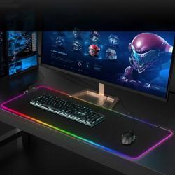 RGB Gaming Mauspad LED Mousepad Maus Mat Anti Rutsch Matte für Computer