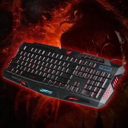 Gaming Tastatur und Maus Set RGB LED Hintergrundbeleuchtung für Gaming