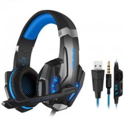 Gaming Kopfhörer mit LED-Licht für Laptop Xbox one PC Smartphone