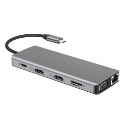 USB C Docking Station Display-Dual Monitor Laptop Docking Station