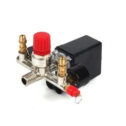 Druckregler Druckschalter Schalter Set für Kompressor 175psi 16A