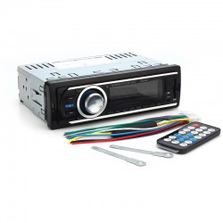 LED Musik Diaplayer Fm Radioplayer Radio Player USB SD WMA f. KFZ 12V