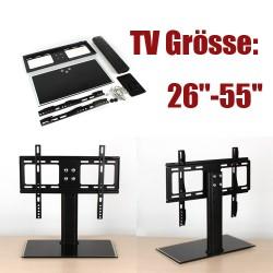 Universal Standfuß Halter Halterung Ständer f. TV LCD  Plasma 26