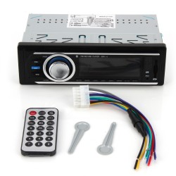 Mediaplayer Radio Musik MP3 Player USB SD FM Radioplayer f. KFZ 12V
