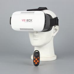 3D VR Brille Virtual Reality Bluetooth Headset Kontroller f. Smartphones