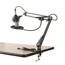 Kondensator Mikrofon Kit Schall Podcast Studio Rundfunk Microphone 6tlg