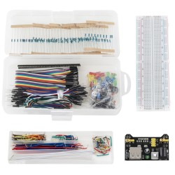 374tlg. Elektronik Lernset Spaßset Stromversorgungsmodul für Arduino
