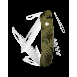 Swiza Taschenmesser Klappmesser Schweizer Messer C05 olive-farn