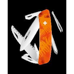 Swiza Taschenmesser Klappmesser Schweizer Messer C06 orange-farn
