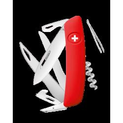 Swiza Taschenmesser Klappmesser Schweizer Messer D07 rot