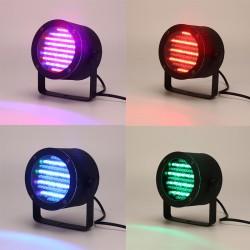Stimme Strahler Lampe Bühnenbeleuchtung LED Lichteffekt RGB 4er Light