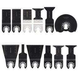 Schleifblätter Sägeblätter 12tlg Zubehör Multitools Werkzeug Set