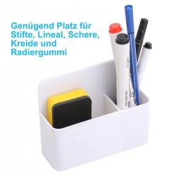 Magnetischer Stifthalter Organizer für Whiteboard-Marker Bleistifte
