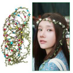 Stirnbänder 10 Stück Blumen Kopfschmuck Haarbänder für Frauen Mädchen