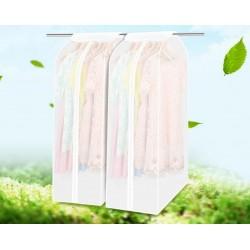 Kleidersack Set Kleiderschutzhülle Kleiderhülle Anzughülle PEVA 2Stk.