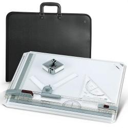 Zeichenplatte A3 Rapid Parallel-Zeichenschiene mit Tasche 51x36.5cm